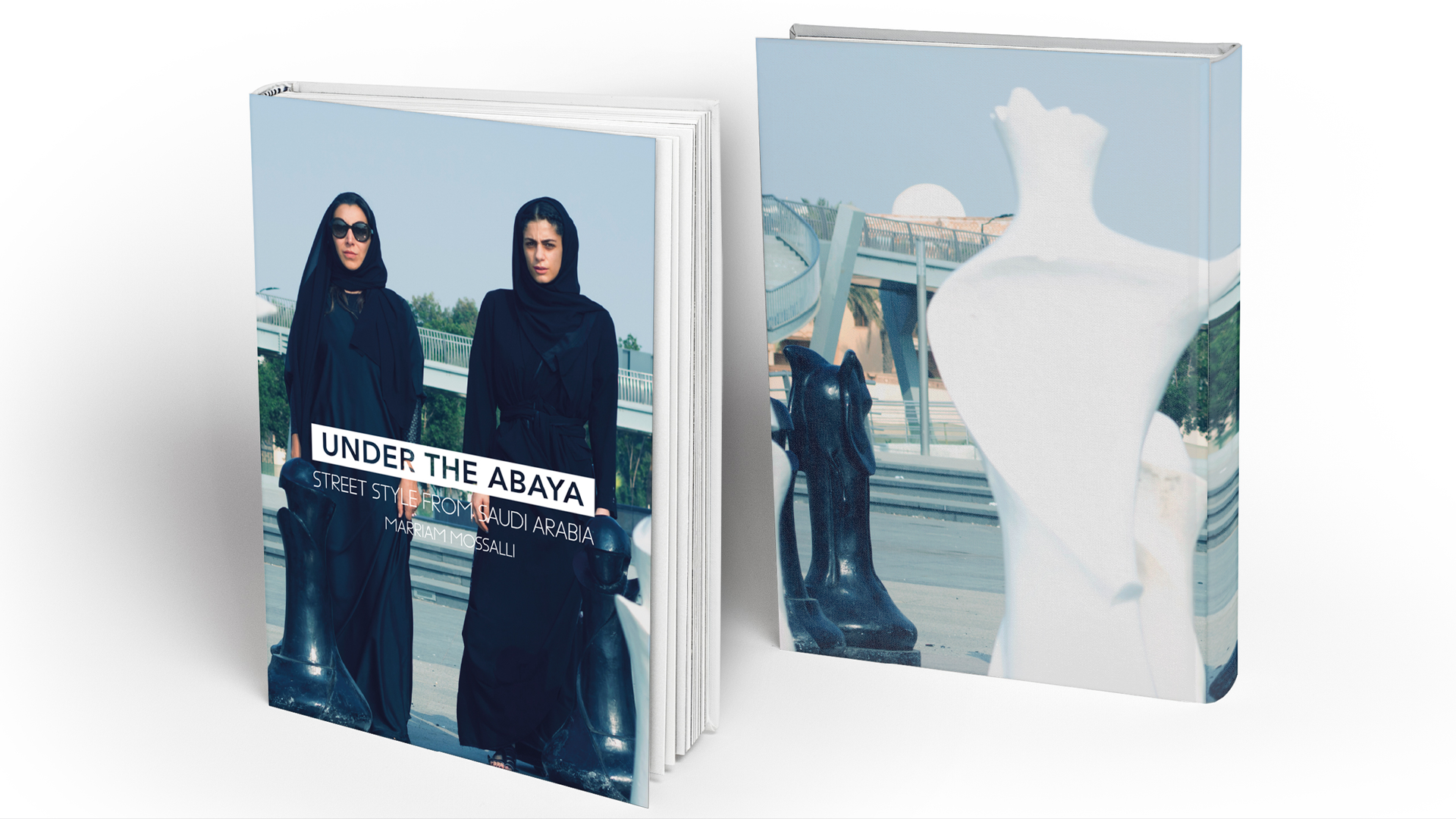 كتاب: under the abaya