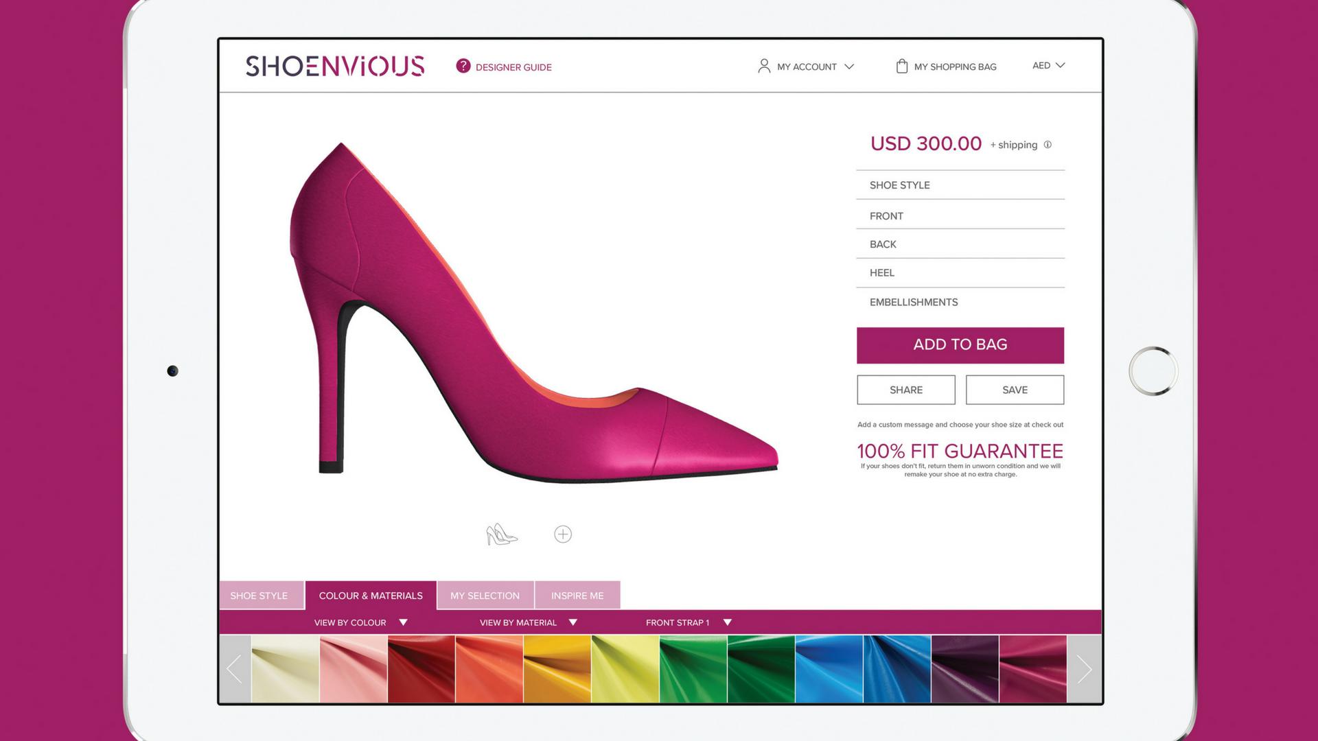 Shoenvious-موقع-تصميم-الأحذية