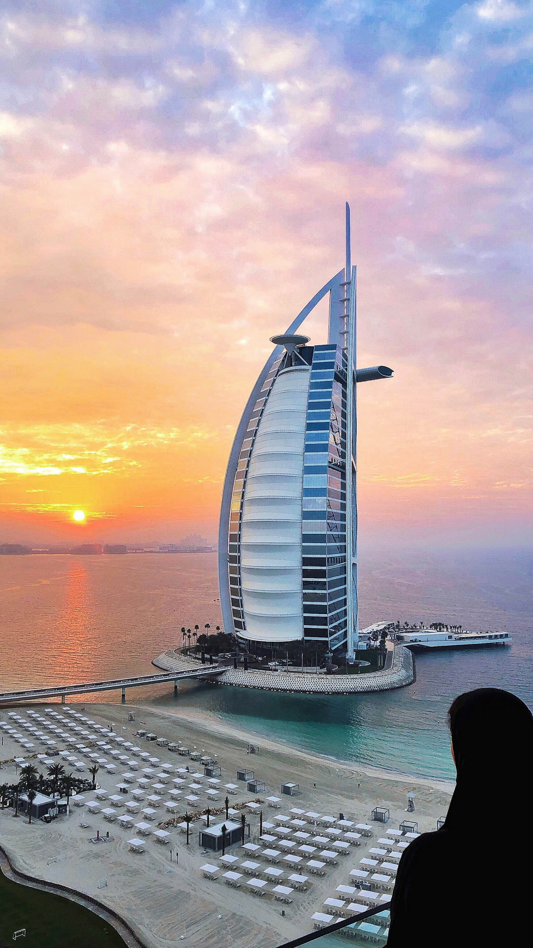 تصوير-الطبيعة-الصيف-دبي-برج العرب