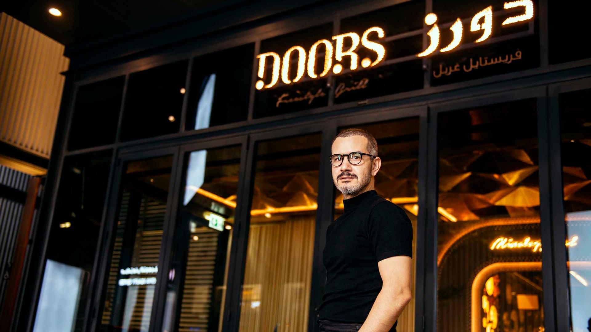 مطعم-دورز-Dubai Doors