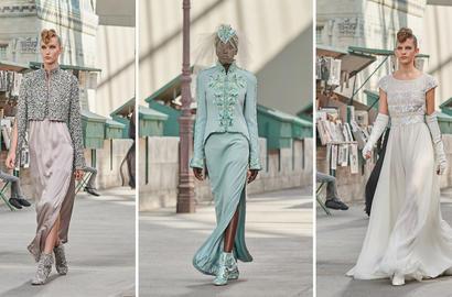 مجموعة شانيل من الأزياء الراقية لخريف شتاء 2018-2019 تعكس جمال العاصمة الباريسية وثقافتها