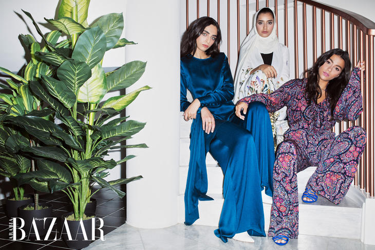 Net-a-Porter, Harper's Bazaar, مجموعة رمضانية, زهير مراد, Etro, Erdem, Marchesa