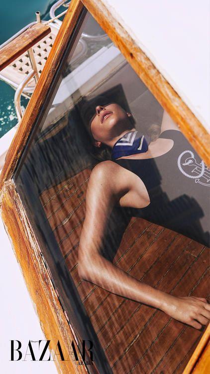 أبحري معنا: Tommy Hilfiger وجيجي حديد