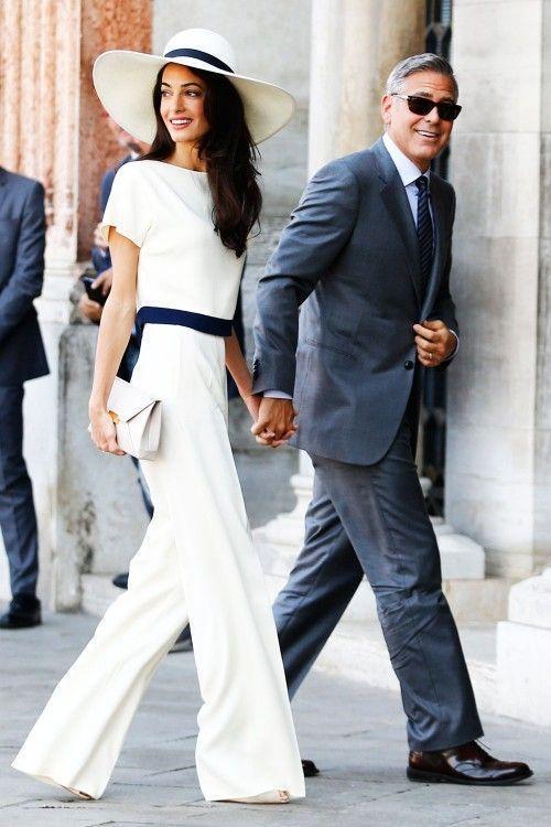 بالتفاصيل: شهر عسل جورج وأمل كلوني