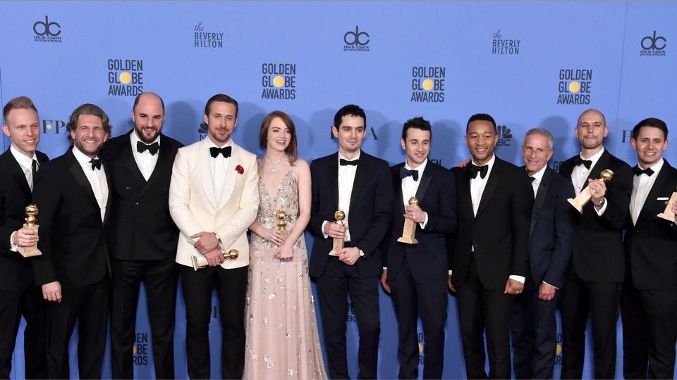 لالا لاند  أو أرض الأحلام يحقق انجازا قياسيا في Golden Globe