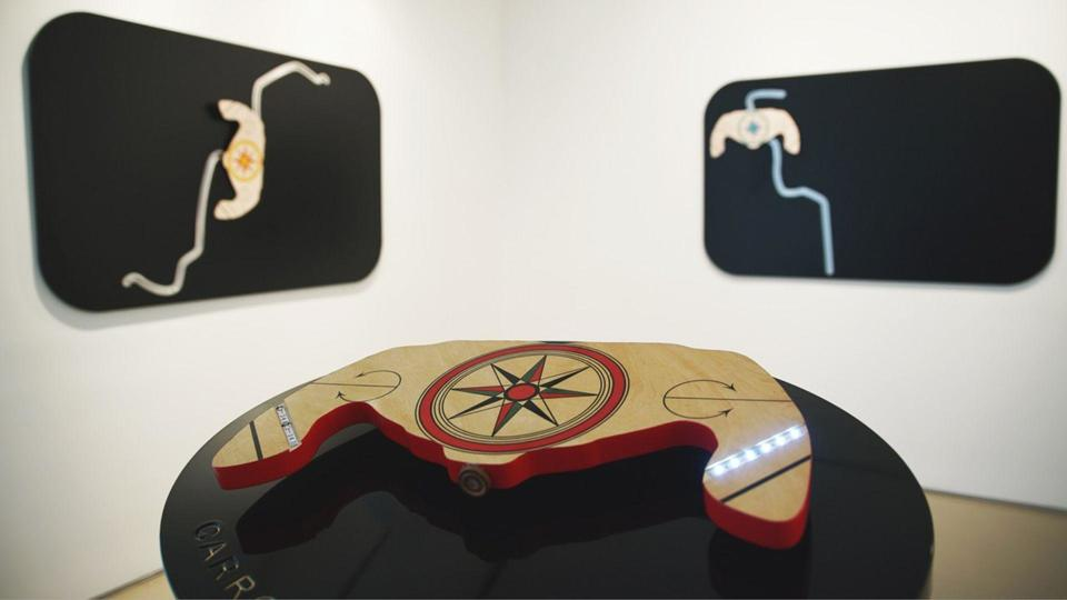 افتتاح معرض تشكيلي للشيخة اليازية بنت نهيان آل نهيان  في نيويورك