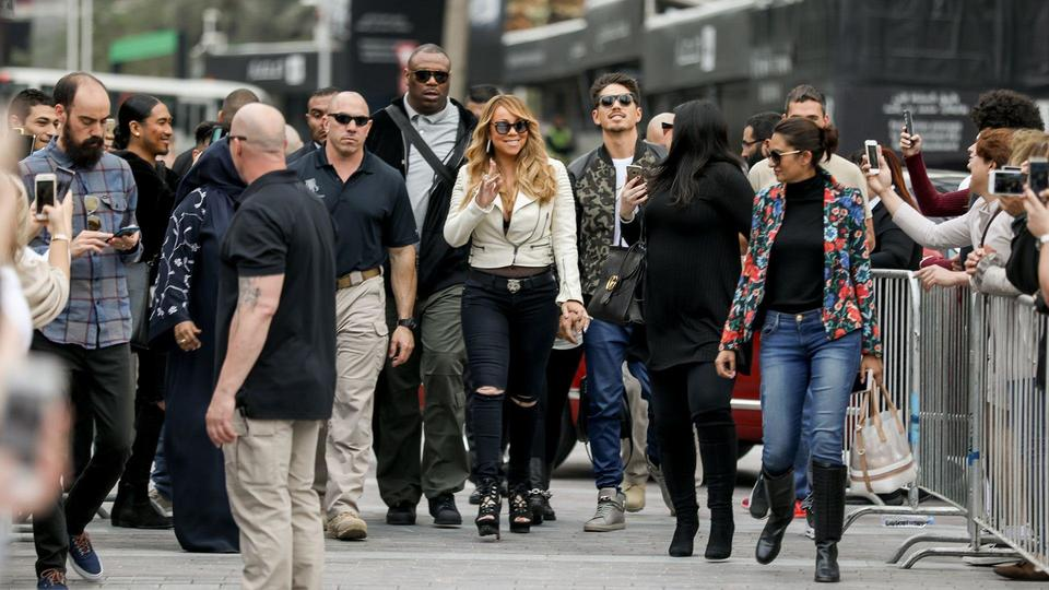 ماريا كاري Mariah Carey في دبي