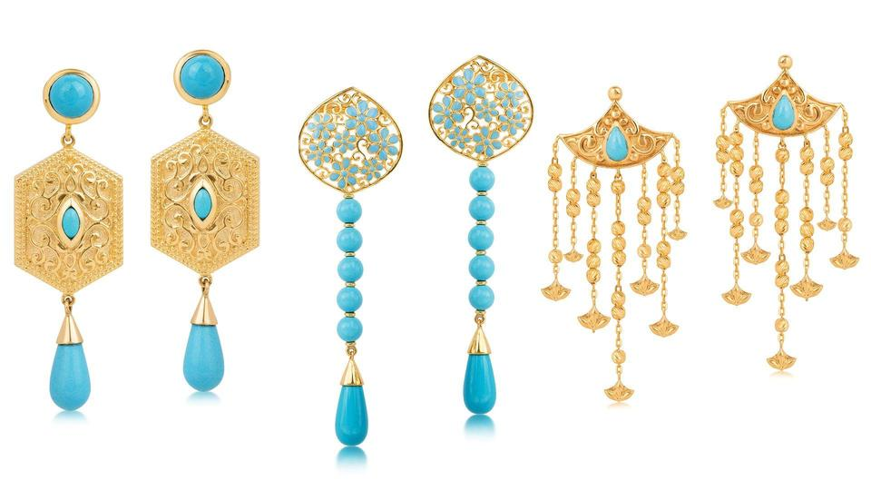 مجموعة مجوهرات أنيقة من تصميم الأميرة نجلاء بنت عصام بالتعاون مع داماس