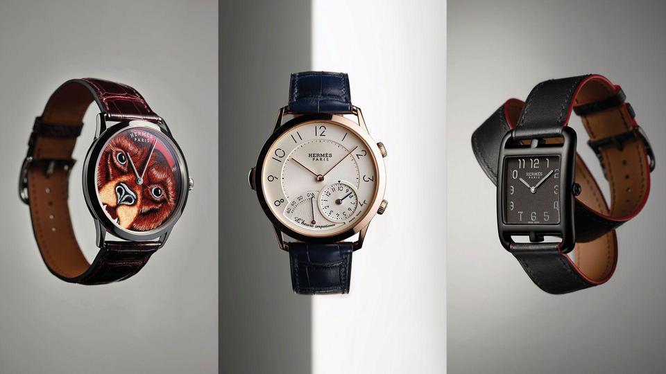 بين الكلاسيكية والخيال، إليك ساعات Hermès هيرمس الرائعة بتصاميم مميزة قلباً وقالباً