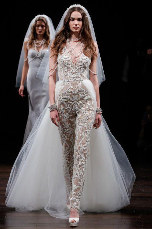 أجمل تصاميم أسبوع الموضة الخاص بفساتين الزفاف