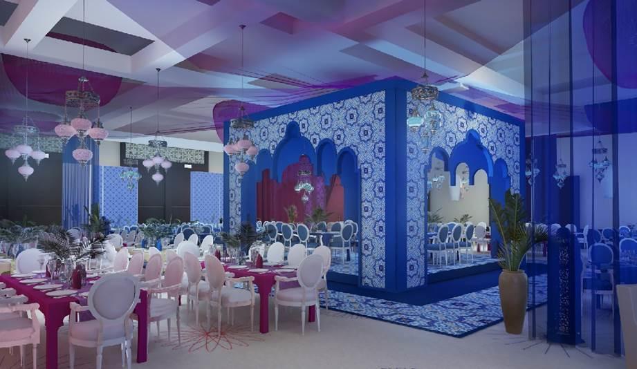 أجواء رمضانية مميزة في خيمة الفيروز