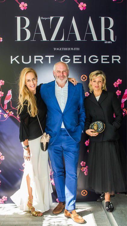 Harper's Bazaar تستضيف حفل شاي بالتعاون مع Kurt Geiger