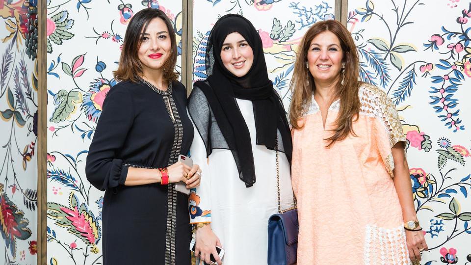 هاربرز بازار العربية تقيم حفل سحور بمشاركة Tory Burch