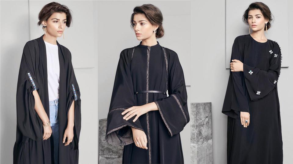 تألّق دور الأزياء الكويتية المتخصّصة بالعباءات حناين وشادو مع سواروفسكي في عيد الأضحى 2017