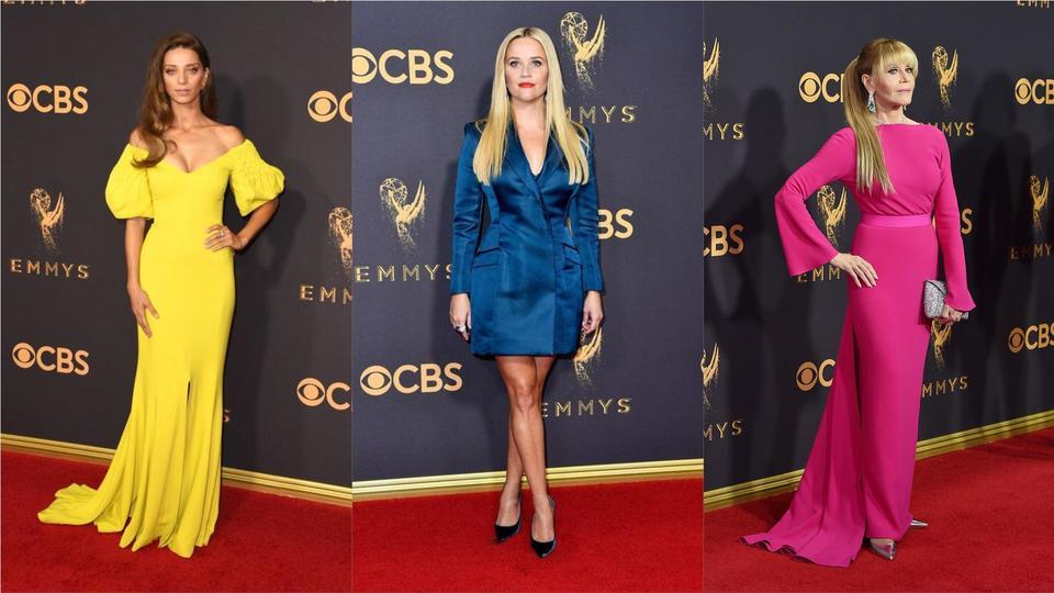أفضل اطلالات Emmy's 2017