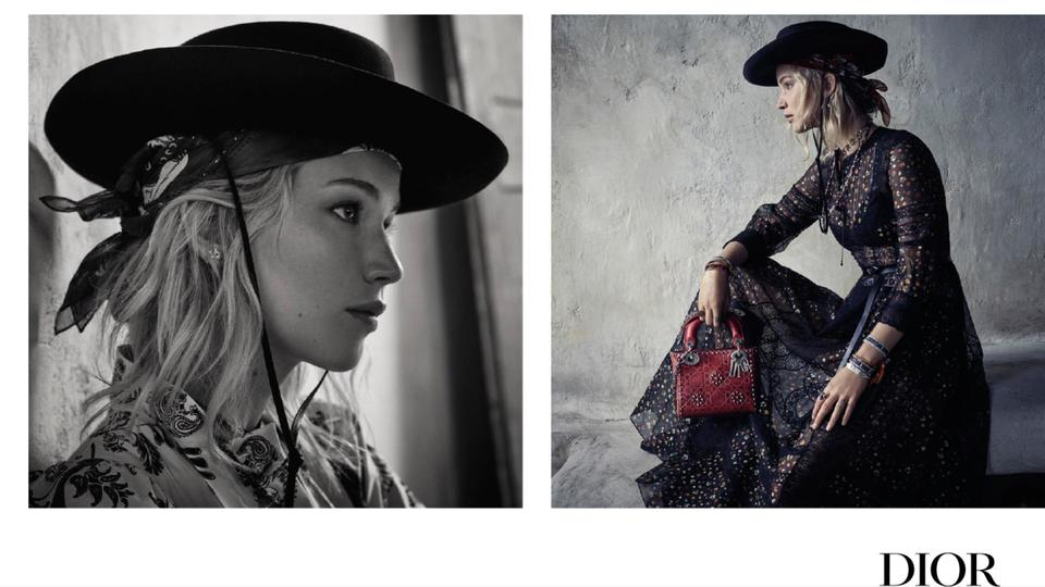 حملة جينيفر لورنس ومجموعة ديور Dior Cruise 2018