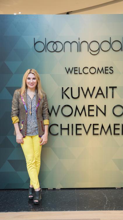 شاهدي بالصور الإحتفال الخاص بإنجازات المرأة الكويتية بالتعاون مع بلومينغديلز