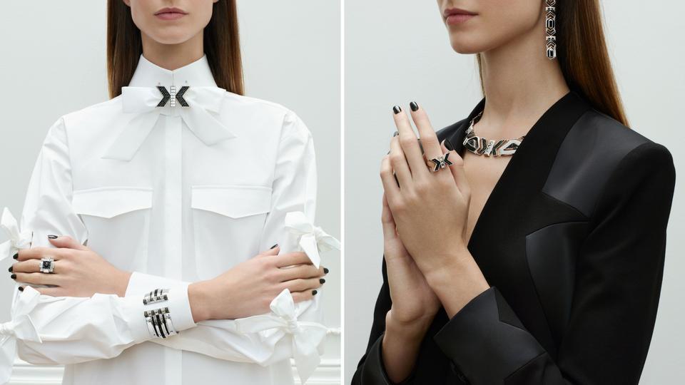 """تقدّم دار أزياء كارل لاغرفلد مجموعة المجوهرات المحدودة تحت عنوان """"آرت ديكو"""""""