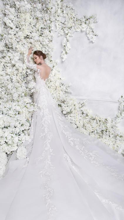تشكيلة فساتين زفاف لموسم 2018 من دار رامي العلي