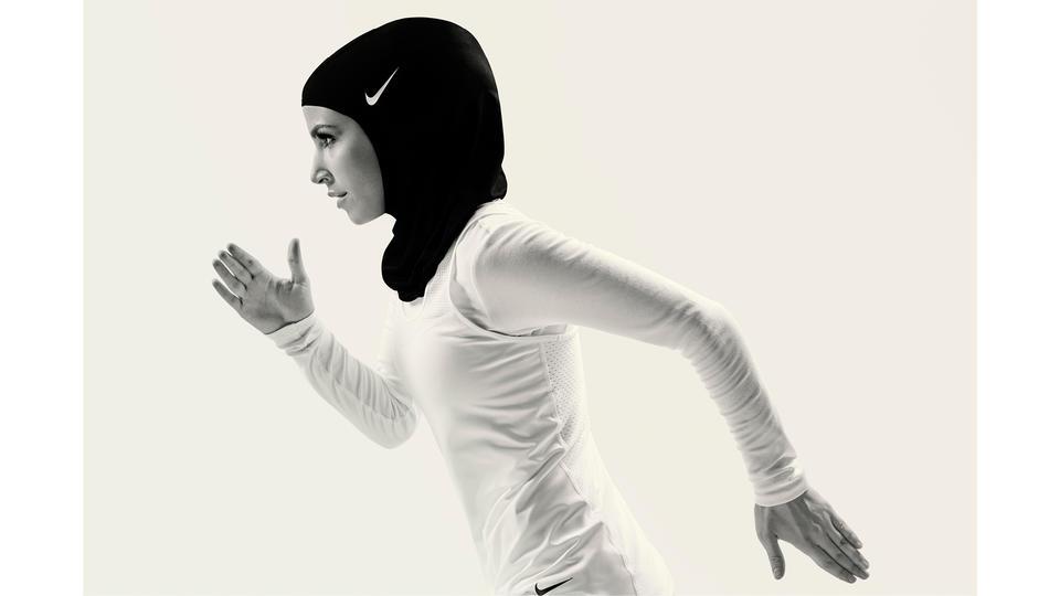 Nike تطرح حجاب Nike Pro عالمياً