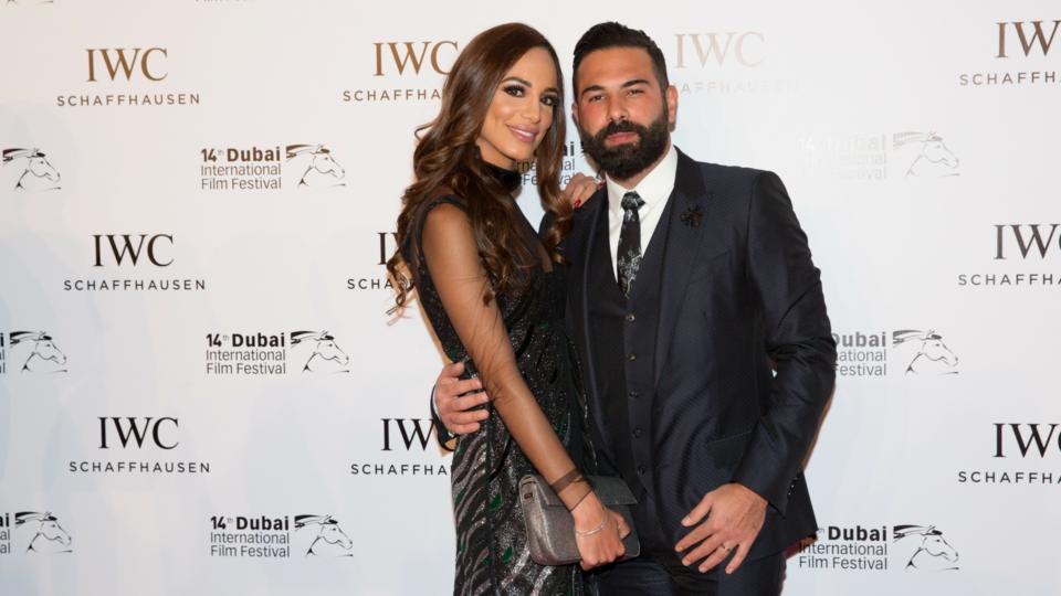 جانب من حفل توزيع جوائز  IWC's Filmmaker Awards  ضمن فعاليات مهرجان دبي السينمائي 2017