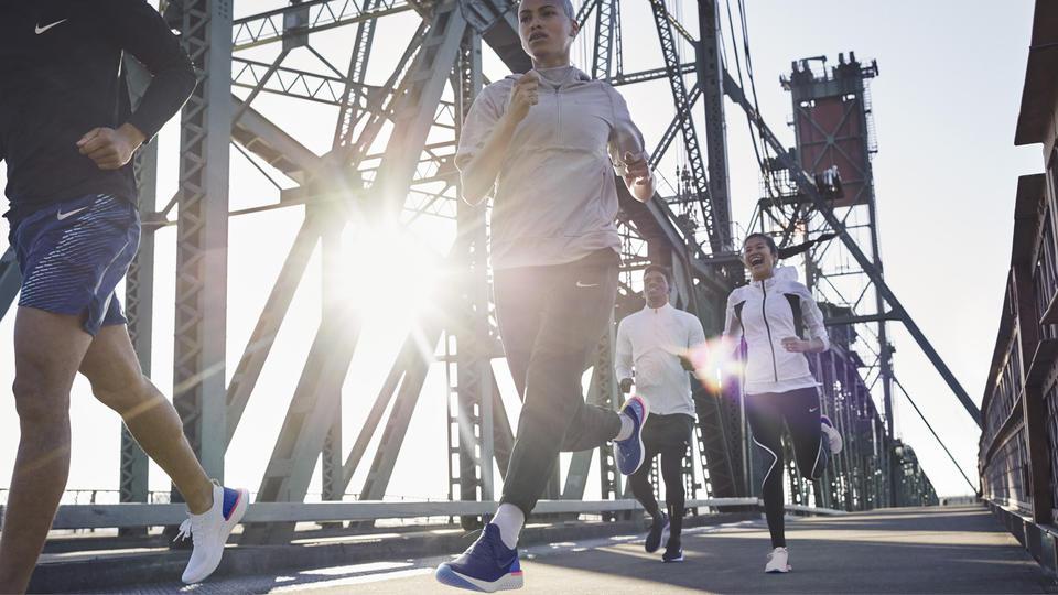 علامة Nike تطلق أول حذاء مخصص للجري Epic React