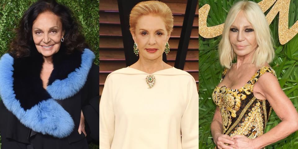 تكريم كل من ديان فون فورستنبرغ و دوناتيلا فيرساتشي وكارولينا هيريرا في حفل توزيع جوائز CFDA Awards