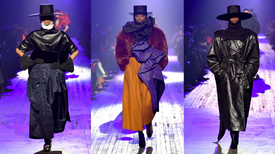 5 مرات استخدم فيها المصممون العالميون غطاء الرأس على منصات عروض الأزياء لموسم خريف وشتاء 2018