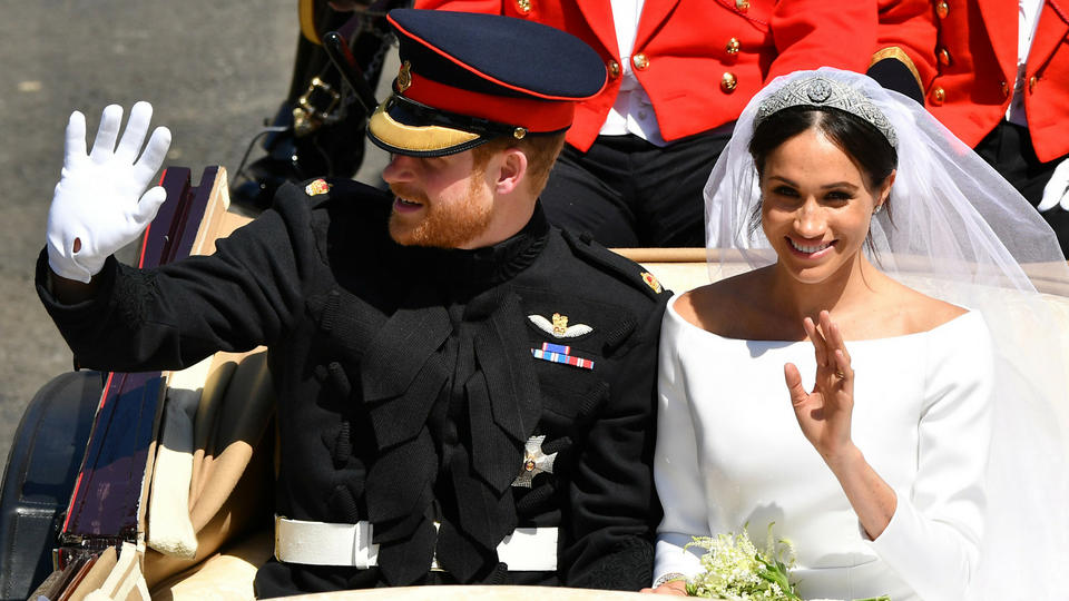 بالصور: أبرز لحظات زفاف العام 2018 الملكي