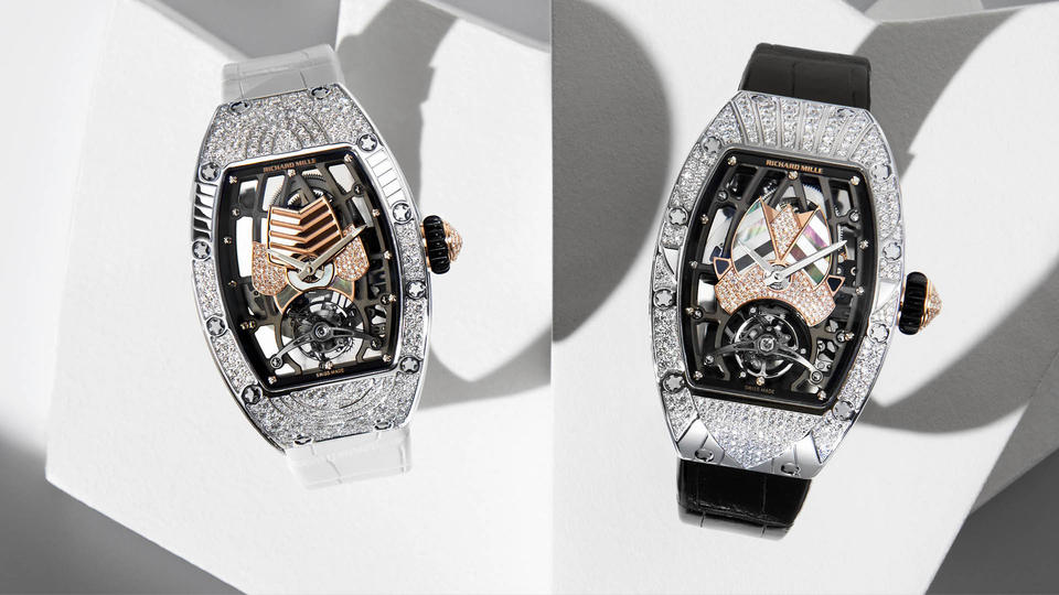 تعرّفي إلى ساعة RM 71-01 Automatic Tourbillon Talisman الفاخرة من ريتشارد ميل