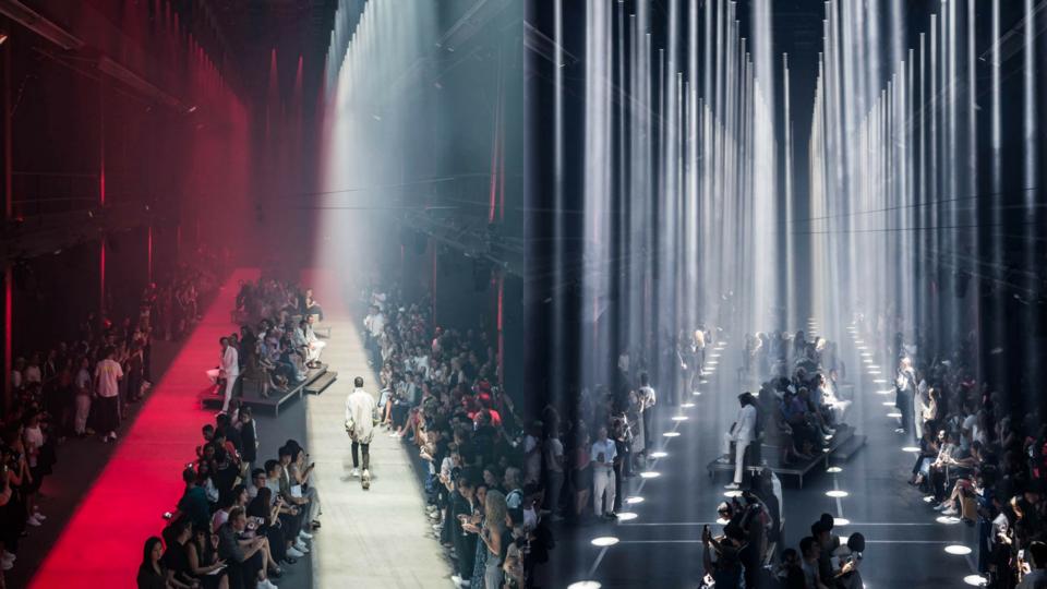 بالصور: عرض أزياء Hugo  لربيع وصيف 2019