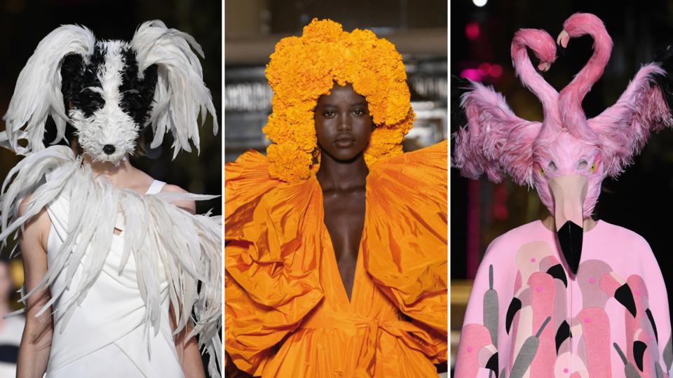 هذه هي أغرب الإطلالات التي شهدها أسبوع الموضة للأزياء الراقية على الإطلاق..