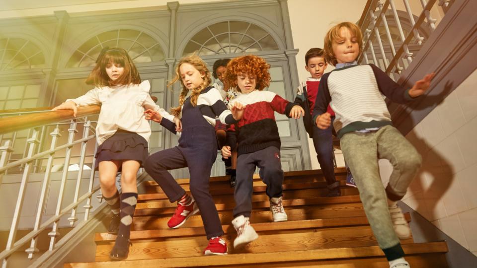 تشكيلة جديدة من أزياء الأطفال لموسم خريف 2018