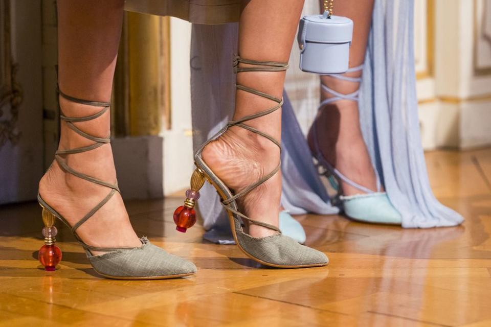 اكتشفي أجمل الأحذية من شهر الموضة لموسم ربيع وصيف 2019