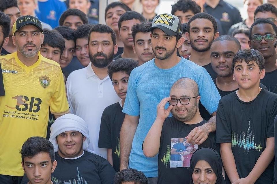 """الشيخ حمدان بن محمد يطلق عبر تويتر """"تحدي دبي للياقة"""""""