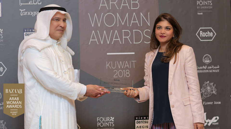 تعرّفي إلى الفائزات بجائزة المرأة العربية الكويت 2018