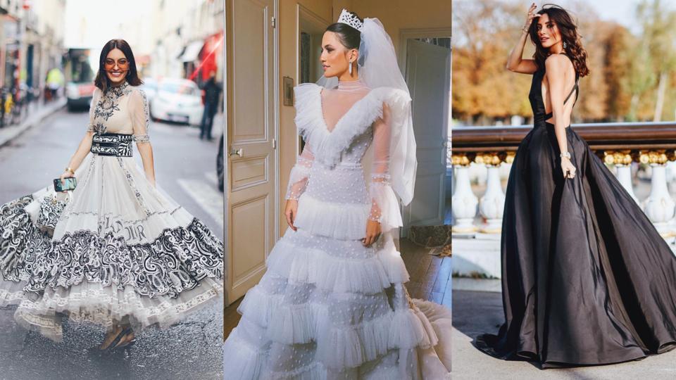 هذه هي أبرز اللقطات بالتزامن مع حفل زفاف أندريا وازن في باريس
