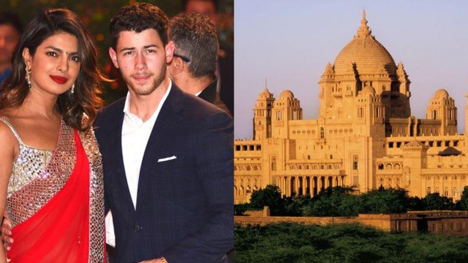 برياناكا شوبرا ستقيم حفل زفافها في قصر حقيقي