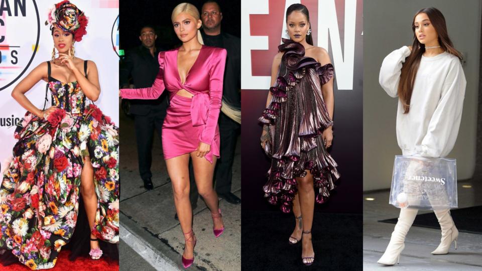تعرفي إلى النجمات اللاتي كنّ الأكثر تأثيراً على صعيد الموضة خلال العام 2018