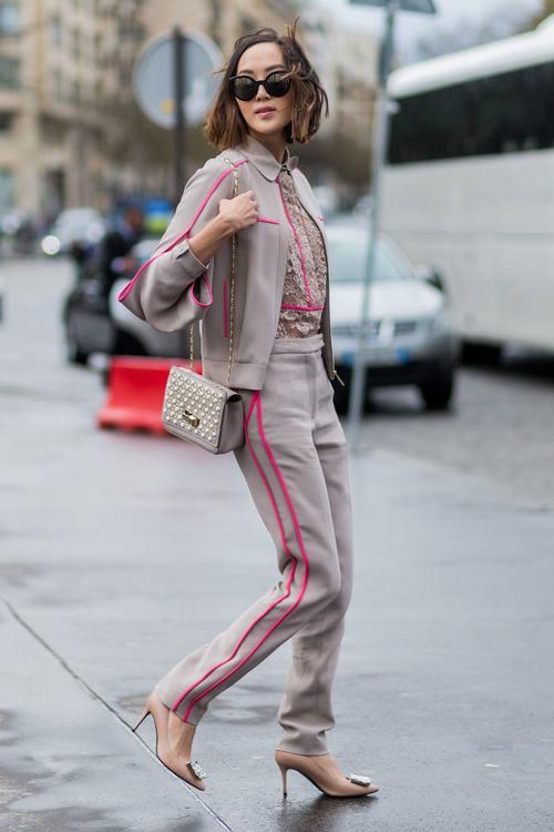 صيحة اللون الواحد تسيطر على الموضة
