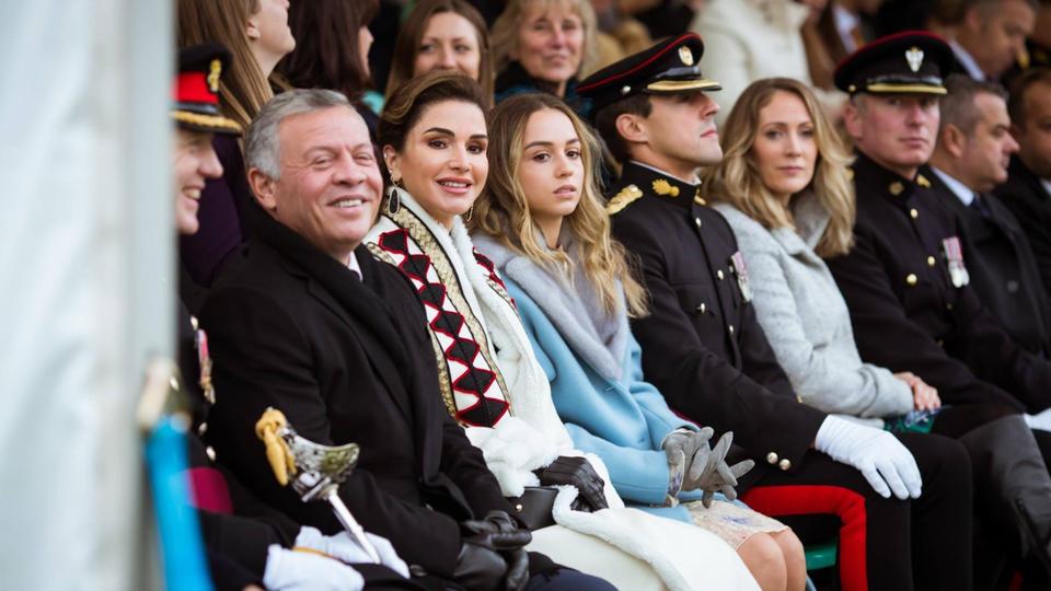 أبرز اللقطات من مراسم تخرّج الأميرة سلمى من الأكاديمية العسكرية
