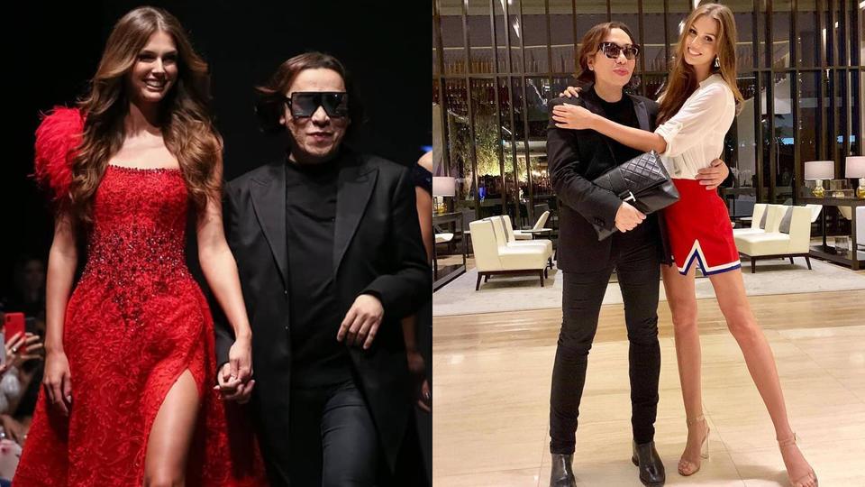ملكة جمال كندا تختتم عرض أزياء Michael Cinco ضمن أسبوع الموضة العربي