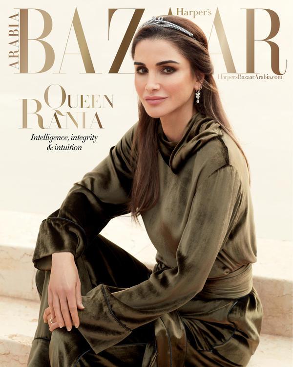 غلاف مجلة شهر مارس: جلالة الملكة رانيا العبدالله تتحدث عن آمالها في صياغة مستقبل مشرق في أنحاء العالم العربي