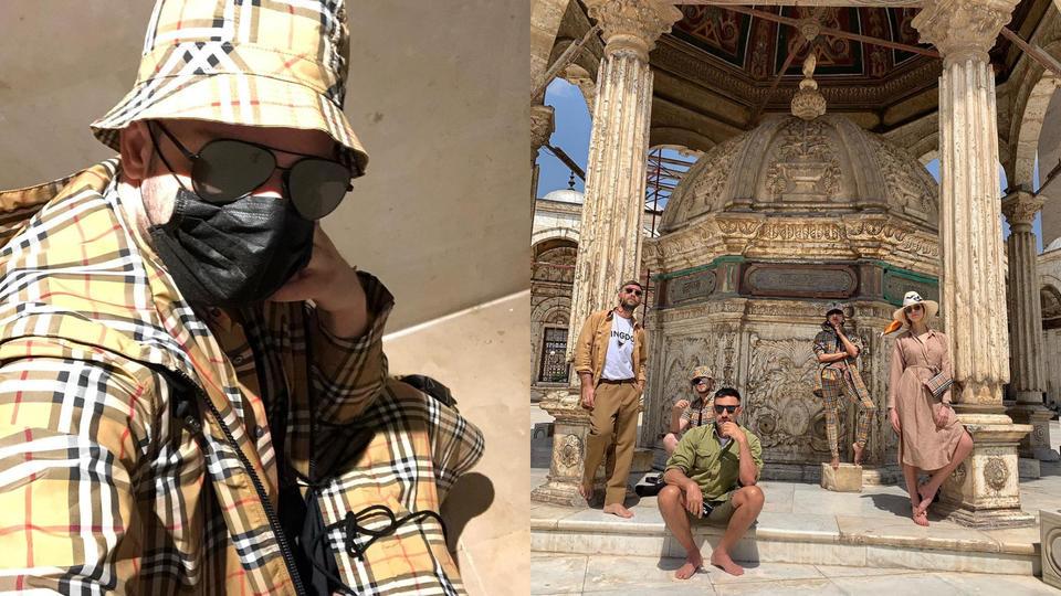 علامة بربري في مصر: العطلة ذات الطابع المصري التي قضاها ريكاردو تيسي