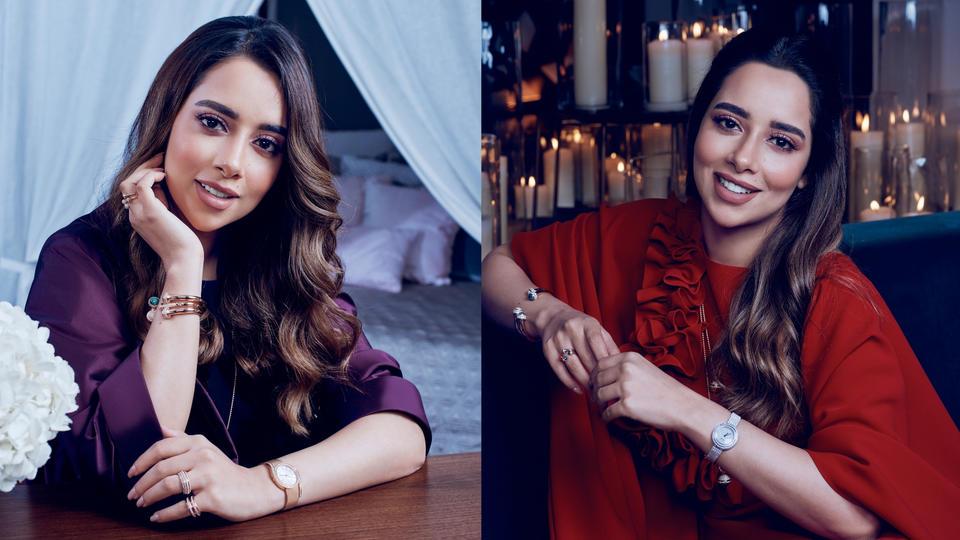 المغنية الإماراتية بلقيس فتحي تتألق في حملة بياجيه الرمضانية