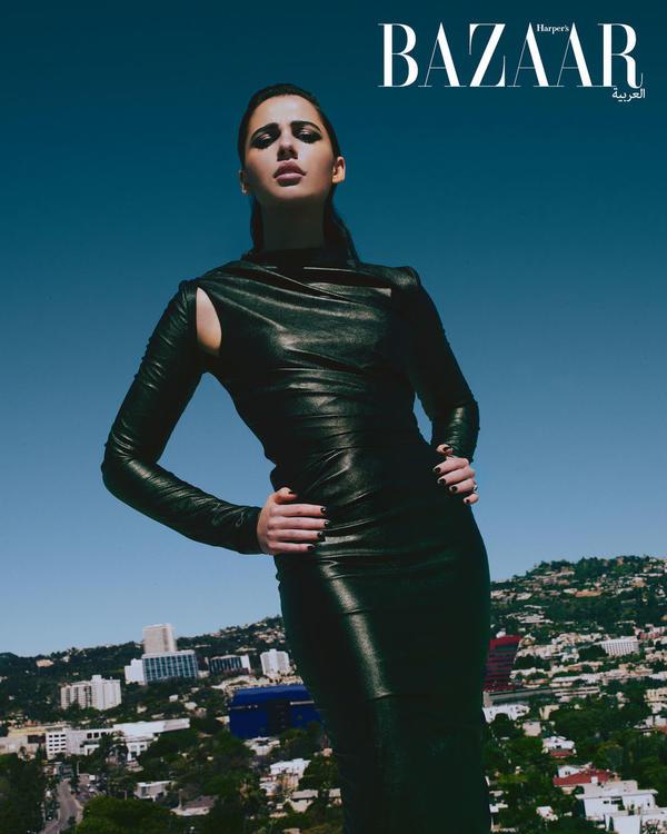 نجمة غلاف شهر يونيو نعومي سكوت تنقلنا إلى عالم جديد تسوده القوة من خلال الأميرة ياسمين