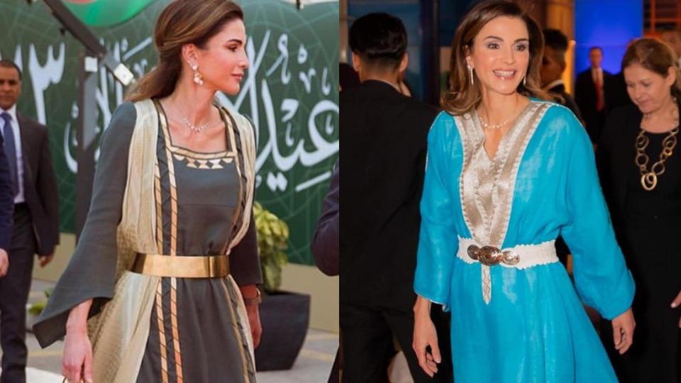 هكذا خطفت الملكة رانيا أبصارنا وقلوبنا خلال شهر رمضان