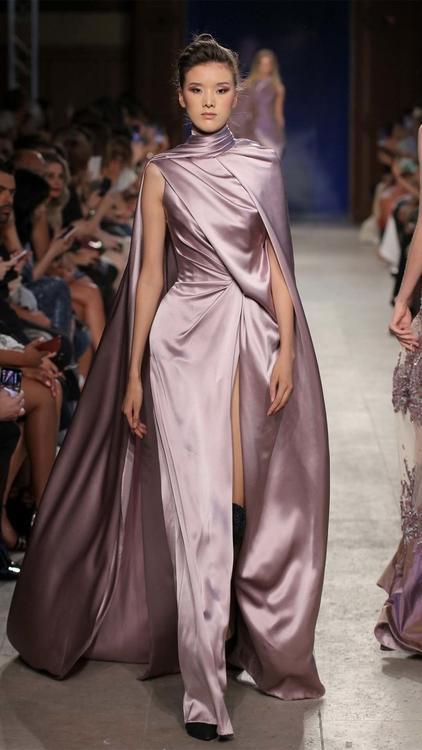 تشكيلة نيكولاس جبران من الأزياء الراقية لخريف وشتاء 2019