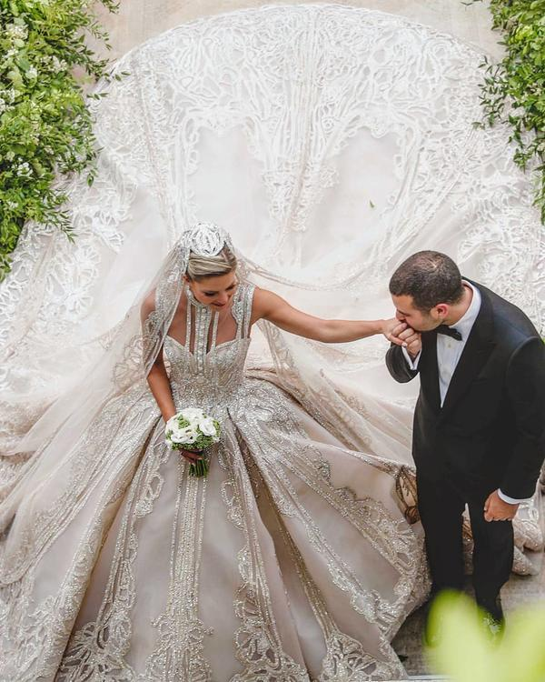 أجمل المقتطفات من العرس الأسطوري لنجل إيلي صعب