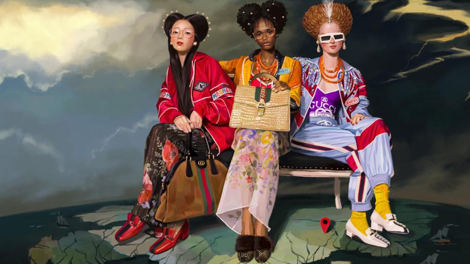 غوتشي تتوج رسميًا كأكثر العلامات التجارية إثارة في عالم الأزياء